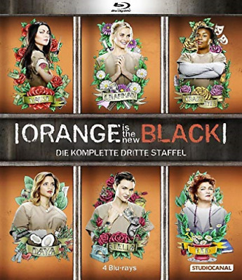 Orange is the New Black - 3. Staffel [4 BRs] - (GERMAN IMPORT) BLU-RAY NUEVO
