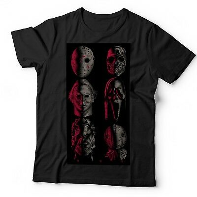 The Killer Bunch Horror T Shirt Childs Play Friday 13Th Halloween It Pennywise 2