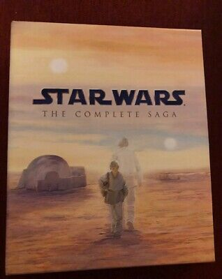Rare Star Wars The Complete Saga Box Set Tons of Extras!