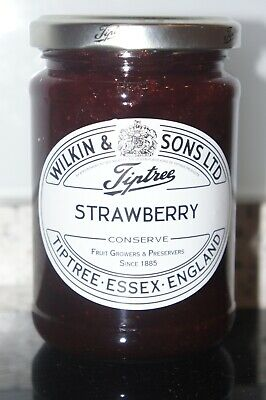**WILKIN & SONS LTD** Tiptree Strawberry Extra Jam 340g Jar