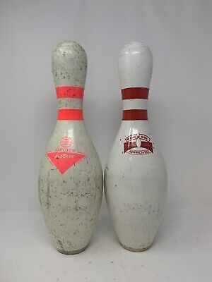 USED BOWLING PIN Qubica/AMF USBC APPROVED Plastic Coated