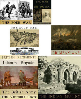 eBooks: 382 of. British Army History Zulu Sudan Boer Crimean Indian Wars, PDF.