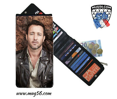 alex o'loughlin #005 hawaii five-0 card holder porte cartes