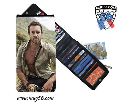 alex o'loughlin #006 hawaii five-0 card holder porte cartes