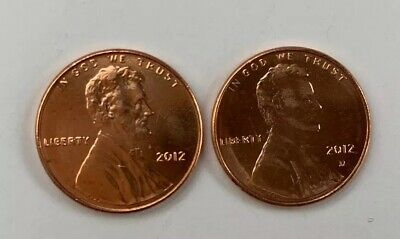 2012 P&D - Lincoln Shield Cent Penny Set - Uncirculated