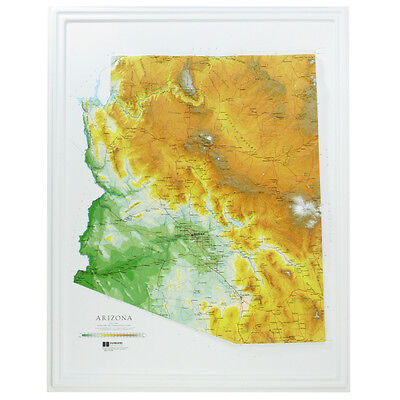 Relief Map Of Texas.Texas State Raised Relief Map Raven Style 42 95 Picclick