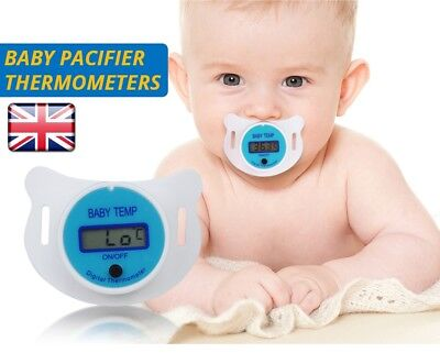 New Design Baby Digital Dummy Pacifier Electronic Thermometer Soother Trend ^_^