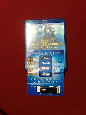 Pirates Of The Caribbean Dead Men Tell No  Like New Blu ray, Unused Digital HD