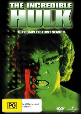 The Incredible Hulk : Season 1 (DVD, 2008, 4-Disc Set)