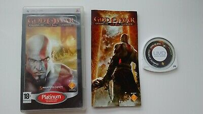God of War Chains of Olympus Complet sur Sony PSP !!!!
