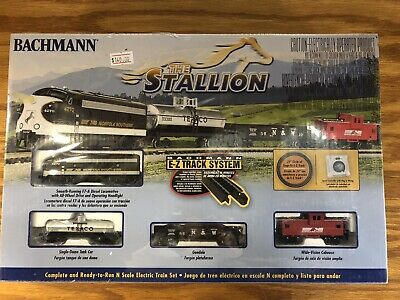 Bachmann- N SCALE THE STALLION NORFOLK SOUTHERN SET train diesel freight