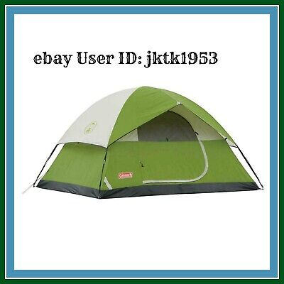 814cf553610 BRAND NEW COLEMAN Sundome 4 Person Tent Green 9 X 7 Outdoor Camping ...