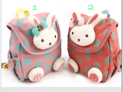 Lovely Toddler Momoailey Circle Safety Harness Backpack(XS) with Bunny Head