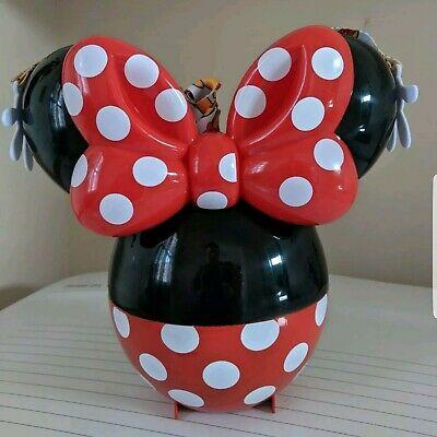 Disney Parks 90th Anniversary Minnie Mouse Balloon Popcorn Bucket 2019 NEW!