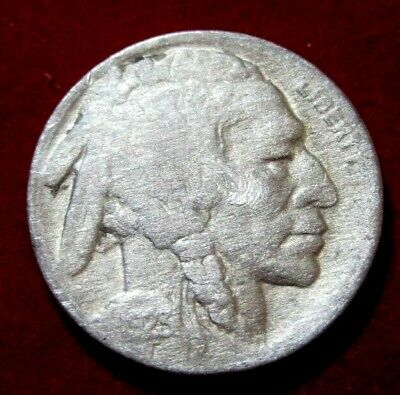 1923S BUFFALO NICKEL VF Details RB2791 55c Shipping,FREE SHIPPING on 3 or more**