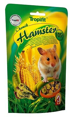 High-Protein Granulated Alfalfa, Grass HAMSTER FOOD With FOS+  (500g - Doypack)