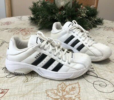 8b622904598 Adidas Classic Retro Striped Leather Sneakers Ultra SS2G Superstar Men s  Shoe 10