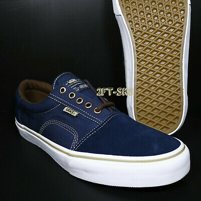 0c225f35db97 VANS ROWLEY SOLOS Dress Blues Brown Men s Skate Shoes  s91118.214 ...