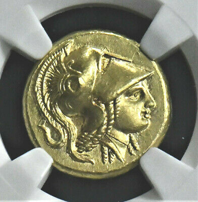 Aphrodite - Ngc Certified Magnificent Alexander Iii The Great Gold Stater