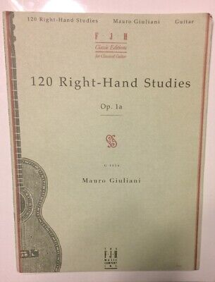 Andres Segovia 20 Studies for Guitar Book Only Transcribed NEW 000006363