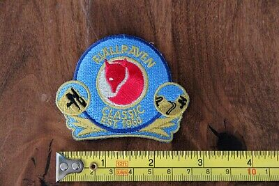 FJALLRAVEN Sew On PATCH Fox BLUE