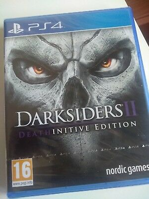 Darksiders Ii 2 Deathinitive Edition -  Pal Esp/ita - Ps4 Playstation 4 - New