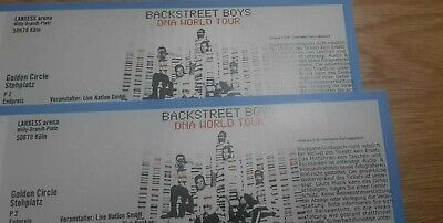 2x Backstreet Boys GOLDEN CIRCLE Stehplatz KÖLN Tickets 20.06.2019 BSB Karten