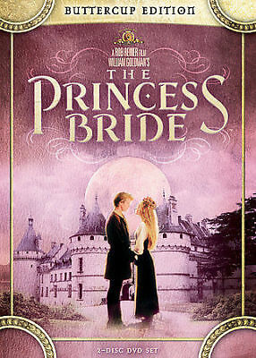 The Princess Bride - Buttercup Edition DVD, Peter Cook, Peter Falk, Fred Savage,