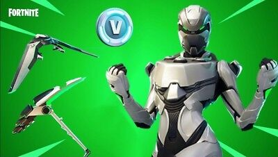 Fortnite Xbox One Eon Skin Set, Includes, Skin, 2000 V-Bucks, And Save the World