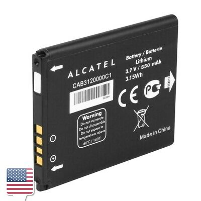 CAB3120000C1 Alcatel 510A Standard rechargeable Battery 3.7V 850mAh Lithium