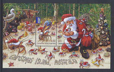 2014 Christmas Island Stamps - Christmas Mini Sheet MUH
