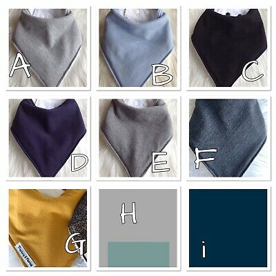 Pick any KNIT Baby BOY Bandana bib pack Baby shower by Tractors & Fairies