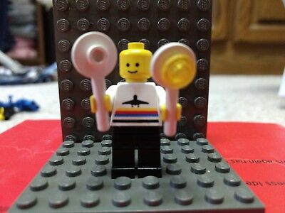 Lego Minifigures 1x air005-Airport Crew-Airport Omino Minifig 6399 6396