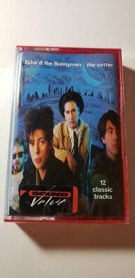 Echo & the Bunnymen - The Cutter -(BRAND NEW SEALED CASSETTE TAPE!!!!!!!!)