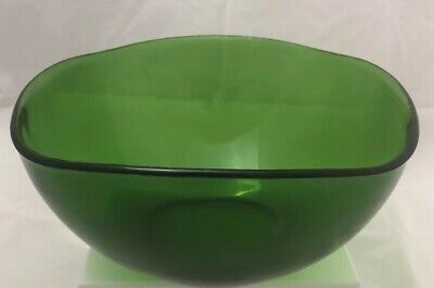 Large VINTAGE VERECO Forest Green Bowl. Great Condition. Great Design.