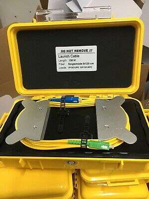 OTDR Launch Cable Box SM 150M OTDR Fiber Rings OTDR Patch Cord SC/UPC-SC/APC