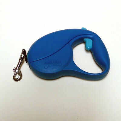 Pet to Go 10 FT Retractable Dog Leash Pet Blue FOR SMALL DOGS OR CATS NEW