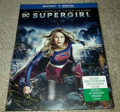 SUPERGIRL The Complete Third Season 3 (Blu-ray + Digital) new unopened