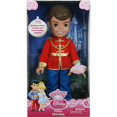 fbabbfbd720d My First Disney Princess: Prince Charming - 14-Inches Toddler Doll by Disney