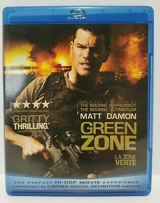 Blu-ray movie: Green Zone - CANADIAN - no scratches - with warranty