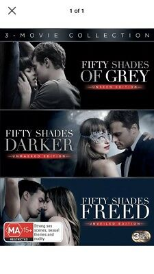 Fifty Shades: 3-movie Collection - DVD Region 4 Free Shipping!