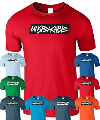 8f5ea3c5b Unspeakable Mens Kids T-Shirt Youtube Gaming Gamer Vlog Boys Girls Top Tee