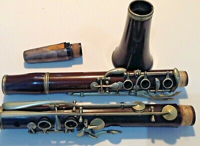 #eBayMarket  Antique CLARINET EBONY
