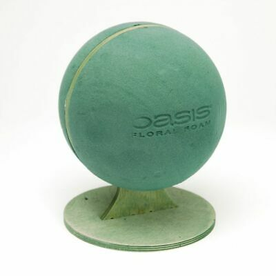 OASIS BIOLINE FOOTBALL Ideal Maxlife Floral Foam Funeral Sympathy Tribute Flower