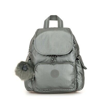 Eur 74 Kipling 10Picclick City Backpack Metallic Pack Fr S Stony XTikZOPu