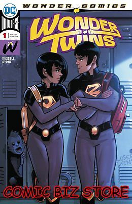 Wonder Twins  #1 (Of 6) (2019) 1St Printing Stephen Byrne Main Cover Dc Universe