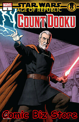 Star Wars Aor Count Dooku #1 (2019) 1St Printing Rivera Main Cover Marvel Comics