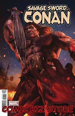 Savage Sword Of Conan #1 (2019) 1St Print Scarce 1:25 Rahzzah Variant Cover