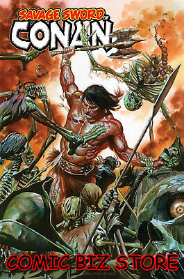 Savage Sword Of Conan #1 (2019) 1St Print Alex Ross Main Cover Marvel ($4.99)