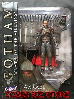 Gotham Select Af Series 4 Azrael (2016) Deluxe Action Figure With Base